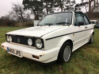 1990 Volkswagen VW Golf MK1 Clipper Automatic Auto Convertible Cabriolet GTI retro classic project