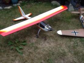 Large rc planes