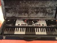 YAMAHA KEYBOARD IN AS NEW CONDITION.