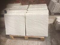 Rivet / riven Concrete Paving slabs