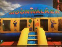 20 x 20 Dome Bouncy Castle Moonwalk excellent condition