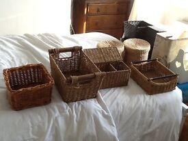 Storage boxes - various