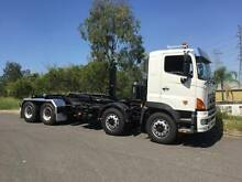 2007 HINO FY 700 SERIES 8X4 TWIN STEER HOOK LIFT HOOK LOADER 2013 Sumner Brisbane South West Preview