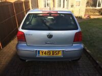 Vw polo 1.4 petrol manual hatchback