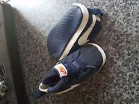 Boys nike crib trainers size 1.5