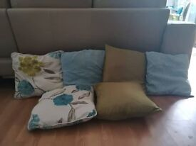 6 peices of cushions from Dunelm