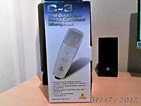 Behringer c3 condensor mic.