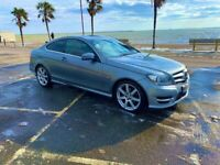 Mercedes-Benz,C250 AMG SPORT Ed 125Cdi Bcy A 7G -Tronic Blueefficiency Auto Coupe, Semi-Auto,