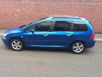 Peugeot 307 SW S 7 Seat Tow Bar Roof Rack Full MOT