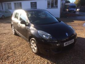 2009 [59] RENAULT SCENIC 1.5 DIESEL NEWER SHAPE MOT AUG 2018