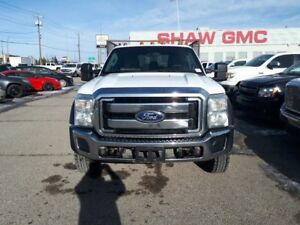 2014 Ford F-550 CHASSIS CAB 4WD | 6.8L | Flat Deck | Power Windo