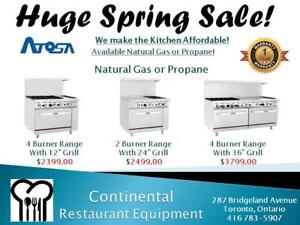 Restaurant Equipment Liquidation Sale! Amazing Prices! Huge Refrigeration Sales and Leasing! Super Warranty and Service!