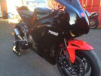 Honda cbr1000rr race/track/road bike