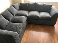 👑**AFFORDABLE NEW LIVERPOOL JUMBO CORD CORNER SOFA AVAILABLE IN 3+2 SOFA SET AS WELL👑**