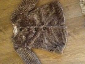 Jasper coran size 12-18 months fur coat £3