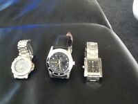 3gents watches to clear £12 for lot