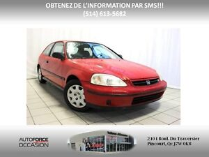 1999 Honda Civic DX AUT WELL EQUIPPED 4CYL LOW KM