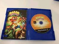 Crash Mind Over Mutant with manual for Ps2 in Good Condition