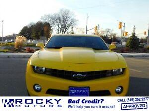 2011 Chevrolet Camaro - BAD CREDIT APPROVALS