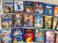 Walt Disney Blu ray & DVD Sets Collection Disneyland Disney World Movies Animation Kids TV Cartoons
