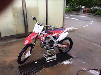 Honda CRF 450cc 2013