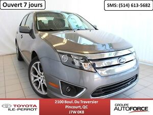 2012 Ford Fusion SEL V6, CUIR, TOIT OUVR, SIÈGES CHAUF, BLUETOOT