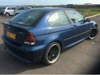 BMW 316 patrol 1.6 car come with 1 year mot full service history