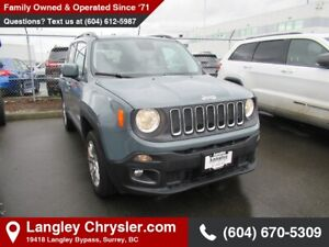 2017 Jeep Renegade North *NORTH* *NAVI* *COLD WEATHER GROUP*...