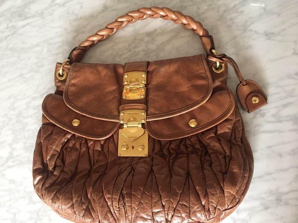 756f135920ea Authentic Miu Miu Matelasse Handbag