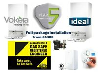 GAS COMBI BOILER INSTALLATION - NEW BOILER REPLACEMENT - FIXED PRICE - GAS SAFE ENGINEER - GLASGOW