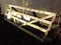 12ft Wooden Paddock/Field Gate