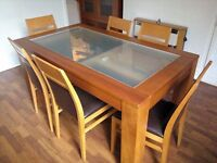 Dining table & 2 sideboards