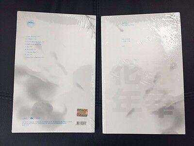 BTS 3rd Mini Album IN THE MOOD FOR LOVE pt1 CD + PHOTOBOOK+PHOTOCARD[White Ver.]