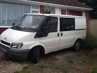 2L Ford Transit, 6 seater, clean family van