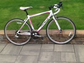 Ladies road bicycle, nearly new and rarely used
