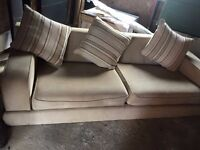 Sofa & footstool