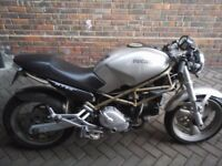1996 Ducati Monster M750 Silver Cafe Racer