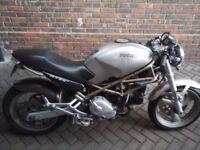 1996 Ducati Monster M750 Silver Cafe Racer