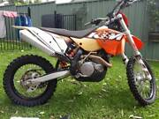 KTM EXC00KM   LOADS OF EXTRAS Blacktown Blacktown Area Preview