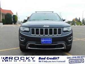 2014 Jeep Grand Cherokee Limited - BAD CREDIT APPROVALS