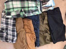 Bundle of boys summer clothes age 11-12