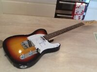 TELECASTER by ROSE MORRIS, authentically signed by the famous singer/songwriter JAMES TAYLOR