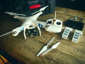 DJI Phantom 2 H3-3D Drone with GoPro HERO 4 BLACK - Excellent Condition