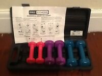 DUMBELL EXERCISE SET
