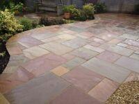 Indian sandstone patio packs
