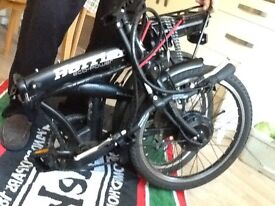 folding electric bike with charger in good condition scroll the description for full details