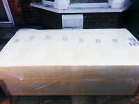 Brand New Quality Single/Small Double Bed with 12inch Spine-Align Extrafirm Mattress!