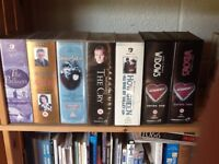 154 VHS video tapes, selection of films etc