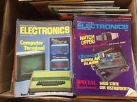 Job Lot Collection Practical Electronics Today Magazine 70s 80s Elektor