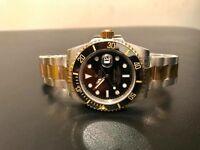 Rolex submariner bi metal watch